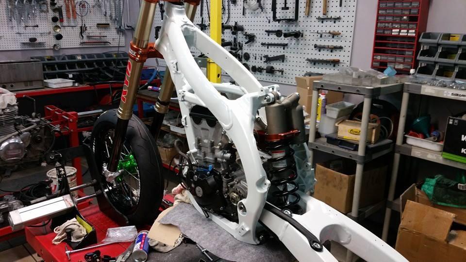 SuperMotard 450 KX